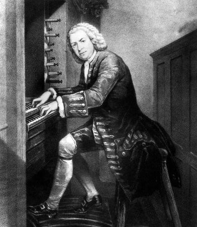 Bach al órgano