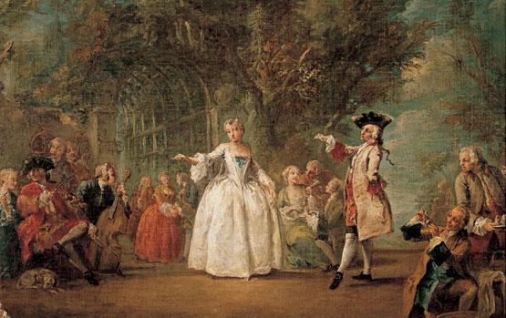 Una danza barroca