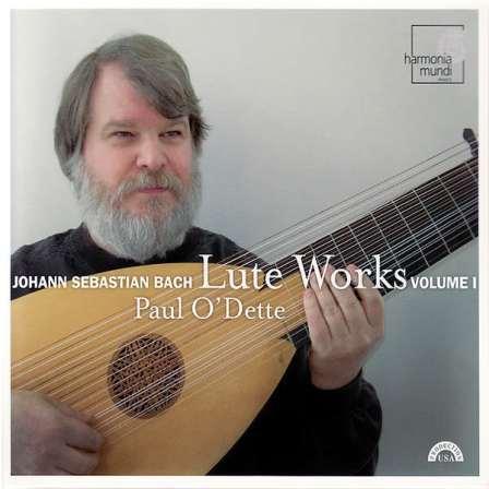 Volumen I (único por ahora) de O'Dette dedicado a Bach
