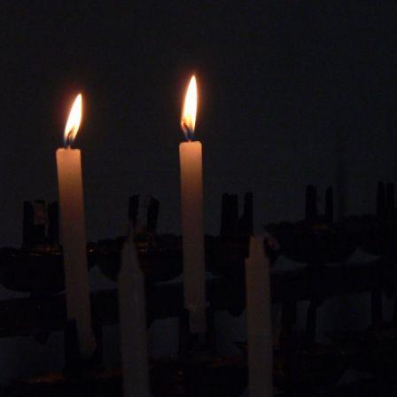 Dos velas para este segundo Domingo de Adviento