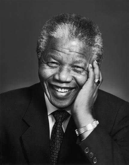 Madiba sonriente